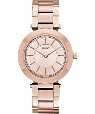 DKNY NY2287 Ladies stanhope rose goud vergulde armband horloge