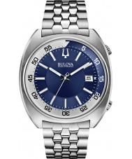 Bulova 96B209 Mens ba ii zilveren stalen armband horloge