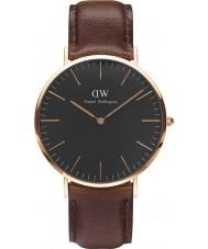 Daniel Wellington DW00100125 Klassiek zwart bristol 40mm horloge