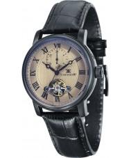 Thomas Earnshaw ES-8042-06 Mens westminster zwart lederen band horloge