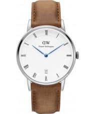 Daniel Wellington DW00100114 Dapper 34mm durham zilveren horloge