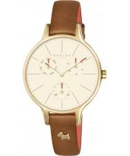 Radley RY2412 Dames Wimbledon ruby lederen chronograaf