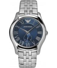 Emporio Armani AR1789 Heren klassieke zilveren stalen armband horloge