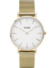 Cluse CL18109 Ladies La Boheme mesh horloge