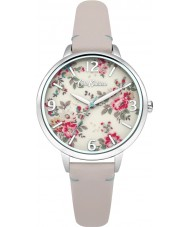 Cath Kidston CKL001PS Ladies kingswood roze lederen band horloge