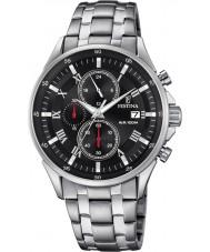 Festina F6853-4 Mens zilveren chronograafhorloge