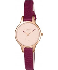 Radley RY2414 Dames Wimbledon ruby lederen band horloge