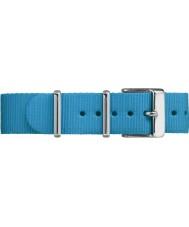 Timex TW7C07400 Weekender fairfield blauw nylon bandje