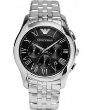 Emporio Armani AR1786 Heren Classic chronograaf zilveren stalen armband horloge