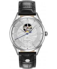 Roamer 550661-41-22-05 Mens swiss matic zwart lederen band horloge