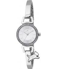 Radley RY4071 Ladies Aldgate zilveren stee half armband horloge