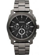 Fossil FS4662 Mens machine chronograafhorloge