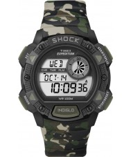 Timex T49976 Mens camo expeditie basis shock chronograafhorloge