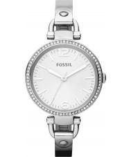 Fossil ES3225 Ladies Georgië zilveren horloge