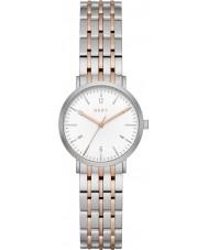 DKNY NY2512 Ladies Minetta two tone stalen armband horloge