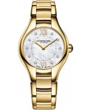 Raymond Weil 5124-P-00985 Ladies Noemia vergulde diamanten horloge