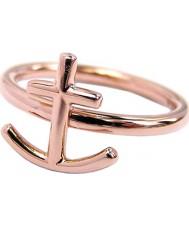 Edblad 81073 Anker rose gouden ring - maat L (xs)