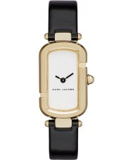 Marc Jacobs MJ1487 Ladies jacobs zwarte lederen band horloge