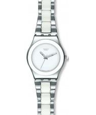 Swatch YLS141GC Dames tresor blanc horloge