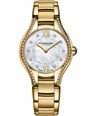 Raymond Weil 5124-PS-00985 Ladies Noemia vergulde diamanten horloge