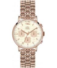 Orla Kiely OK4004 Ladies frankie chronograaf rose goud verguld horloge