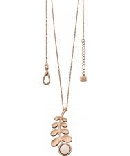 Orla Kiely N4016 Ladies maatje rose gold lange rij steel hanger ketting