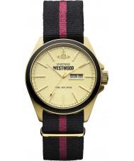 Vivienne Westwood VV068GDBK Mens camden slot ii horloge