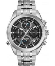 Bulova 96B260 Mens precisionist zilveren stalen armband chronograaf
