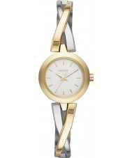 DKNY NY2171 Ladies crosswalk gouden zilveren horloge