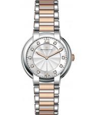 Dreyfuss and Co DLB00062-D-01 Dames 1974 diamant set two tone horloge