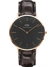 Daniel Wellington DW00100128 Klassiek zwart york 40mm horloge