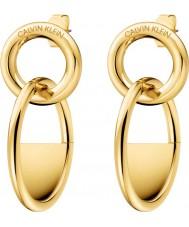Calvin Klein KJ8GJE100100 Dames gesloten oorbellen