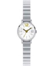Orla Kiely OK4005 Ladies Frankie zilveren stalen armband horloge