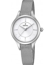 Festina F16958-1 Ladies mademoiselle zilveren stalen armband horloge