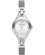 Emporio Armani AR7361 Ladies stalen gaas armband jurk horloge