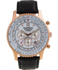 Krug-Baumen 600702DS Mens luchtreiziger diamanten horloge