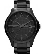 Armani Exchange AX2104 Mannen zwarte ip armband jurk horloge