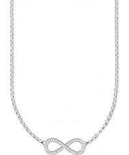 Thomas Sabo KE1312-051-14 Dames eeuwigheid van de liefde oneindigheid zilveren ketting