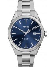 Timex TW2P96800 Mens chesapeake zilveren stalen armband horloge