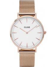 Cluse CL18112 Ladies La Boheme mesh horloge