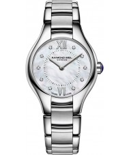 Raymond Weil 5124-ST-00985 Ladies Noemia zilver staal Diamond Watch