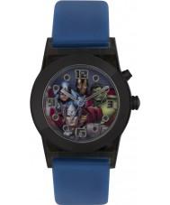 Avengers AVG3509 Marvel jongens knipperende horloge met blauwe siliconen band