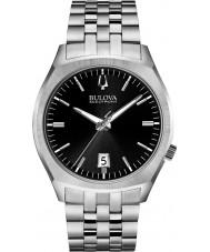 Bulova 96B214 Mens ba ii zilveren stalen armband horloge