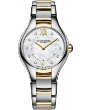 Raymond Weil 5124-STP-00985 Ladies Noemia two tone staal Diamond Watch
