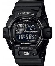 Casio GR-8900A-1ER Mens G-SHOCK wereld tijd zwart op zonne-energie horloge