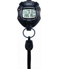 Casio HS-80TW-1EF Digitale zwarte stopwatch