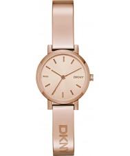 DKNY NY2308 Ladies soho rose gouden horloge