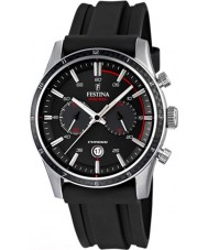 Festina F16874-I Mens Tour of Britain 2015 alle zwarte chronograaf