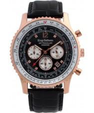 Krug-Baumen 600703DS Mens luchtreiziger diamanten horloge