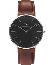Daniel Wellington DW00100130 Klassiek zwart st mawes 40mm horloge